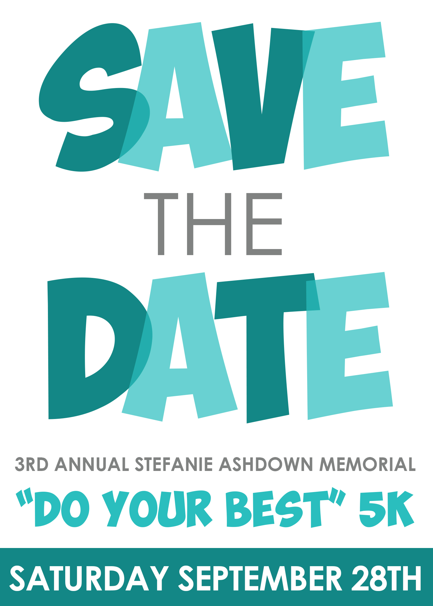 Save the Date September 28th