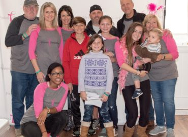 Stef Ripple Family at Think Pink Event